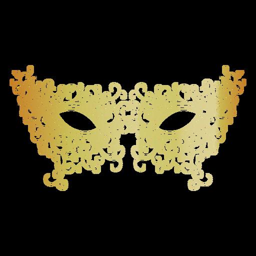 Filigree Carnival Mask Icon