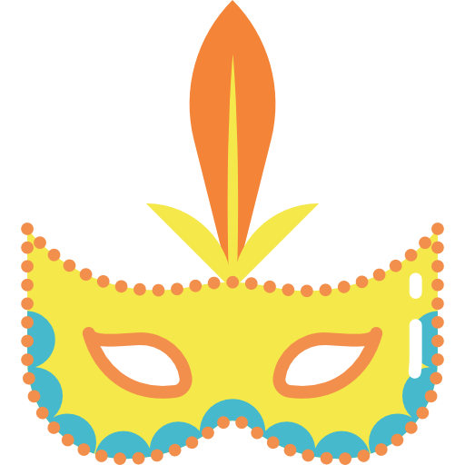 Mask, Party, Carnival, Brazil, Costume Icon