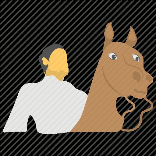 Evacuation Day, Horse Riding Avatar, Man With Horse, Massachusetts