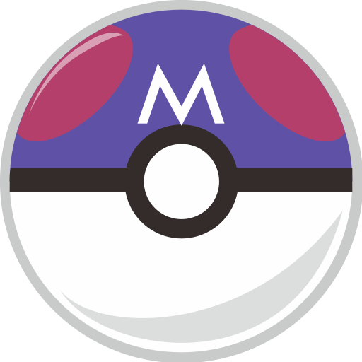 Ball, Master, Pocket, Pocket Monster Icon