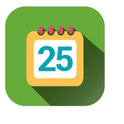Calendar Date Square Icon