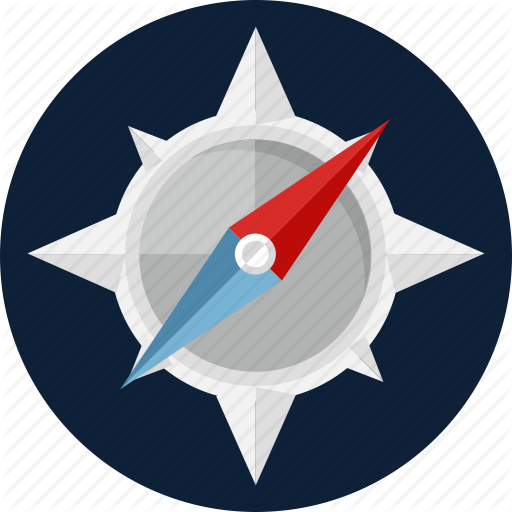 Compass Navigation Direction Icon Material Images