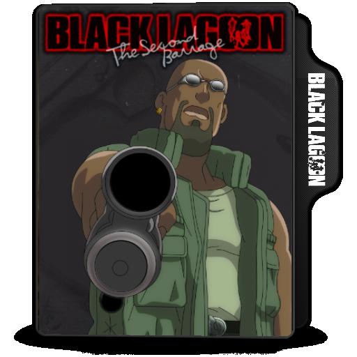 Black Lagoon The Second Barrage Folder Icon
