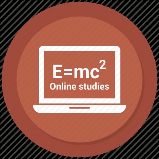 Computer, Devices, E=mc, Laptop, Macbook, Math Icon