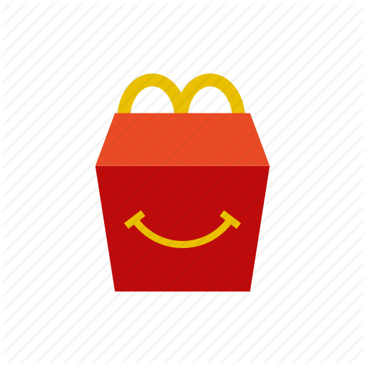 Box, French Fries, Happy Meal, Mcdonalds Icon