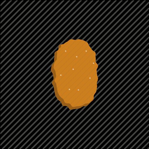 Chicken, Mcdonalds, Nugget Icon