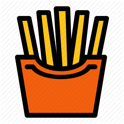 Fast Food, French Fries, Fries, Mcdonalds Icon
