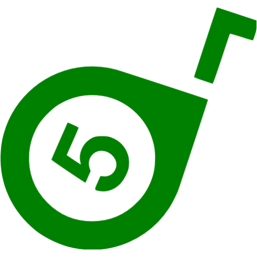 Green Tape Measure Icon