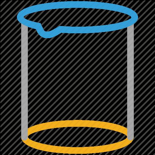 Beaker, Lab Equipment, Measure, Measuring Cup Icon