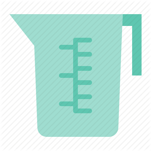 Cleaning, Cup, Housekeeping, Measuring Cup Icon