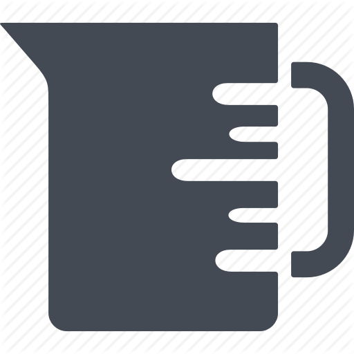 Cup, Kitchen, Kitchenware, Measuring Cup Icon