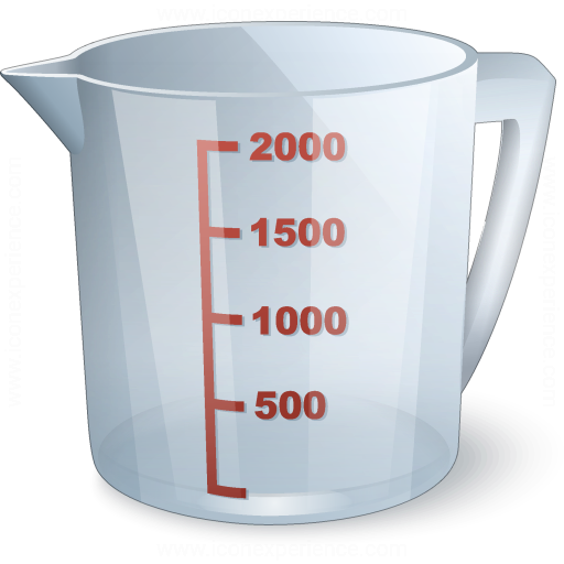Iconexperience V Collection Measuring Cup Icon
