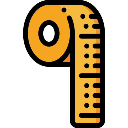 Measuring Tape Art And Design Png Icon