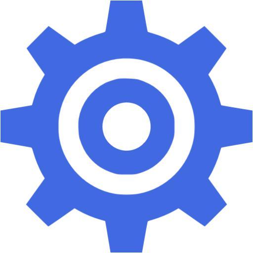 Royal Blue Engineering Icon