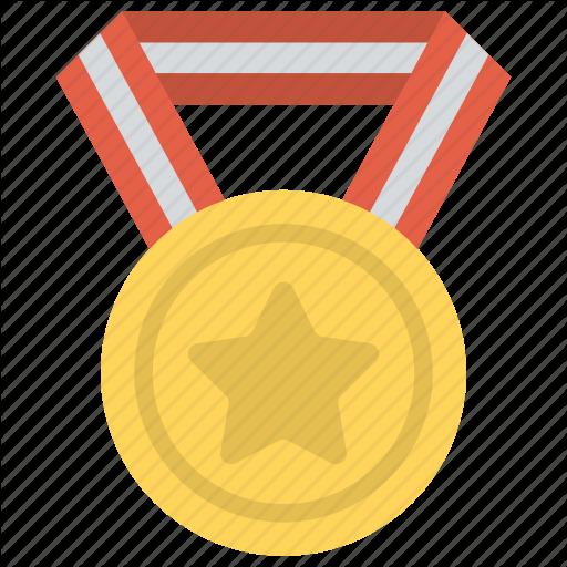 Game Medal, Gold Medal, Olympic Medal, Sports Award, Star Medal Icon