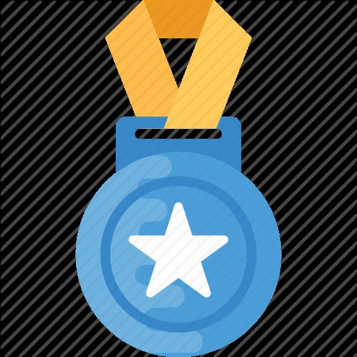 Game Medal, Medal, Olympic Medal, Sports Award, Star Medal Icon