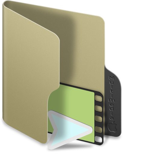 Multimedia Folder Icon Images