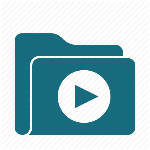 Audio, Folder, Media, Multimedia, Music, Play, Video Icon