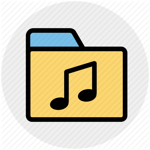 Directory, Media, Music, Music Folder, Songs Icon