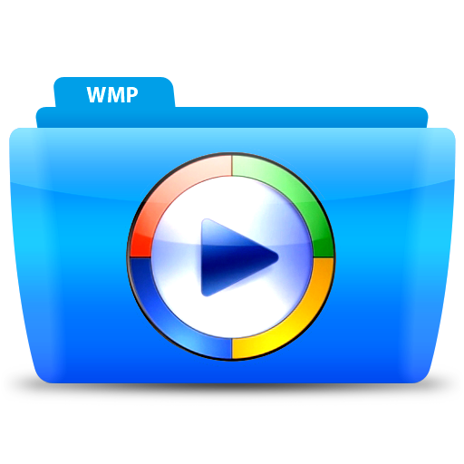 Wmp, Media, Folder, Icon Free Of Colorflow Icons
