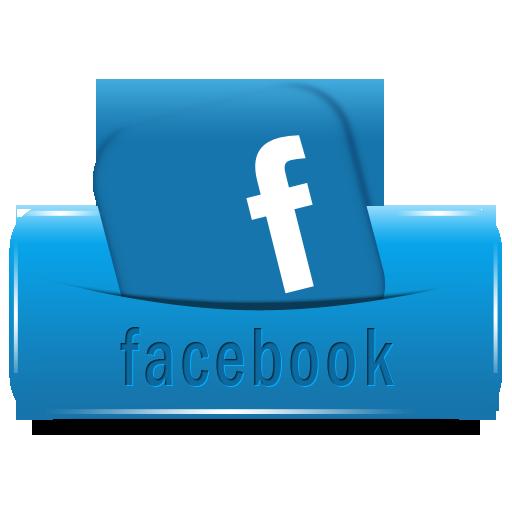 Facebook Button Follow Social Media
