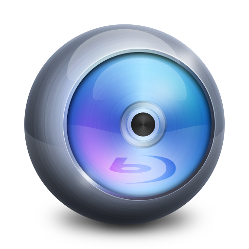 Blu Ray Icon Media Player Iconset Alex