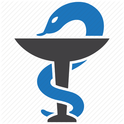 Health Care, Healthcare, Medical, Medicine, Pharmacy, Snake Icon