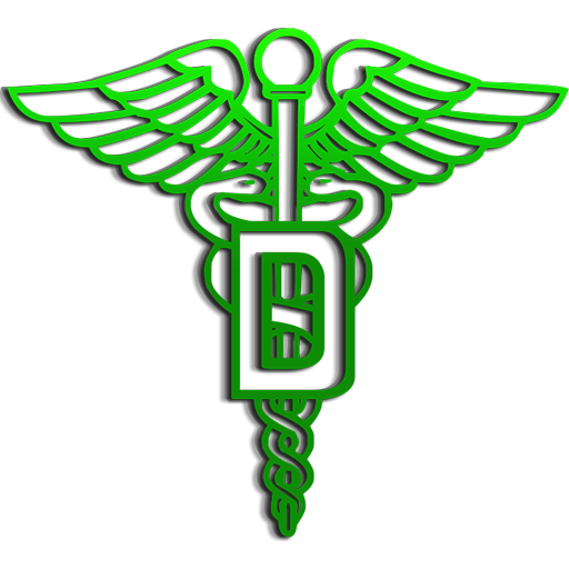 Pictures Of Caduceus Medical Symbol Green