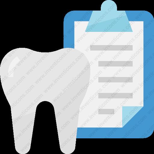 Download Dentist,healthcare,dental,record,medical Icon Inventicons