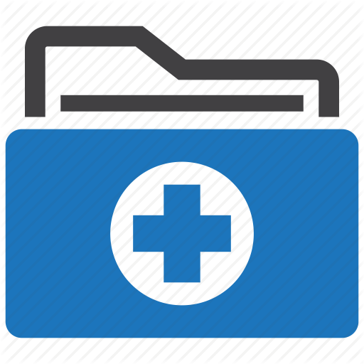 , Healthcare, Hospital, Medical, Patient, Record, Records Icon