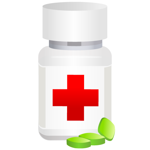 Collection Of Medicine Bottles Icons Free Download