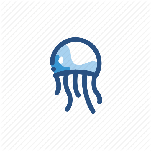 Animal, Jellyfish, Medusa Icon