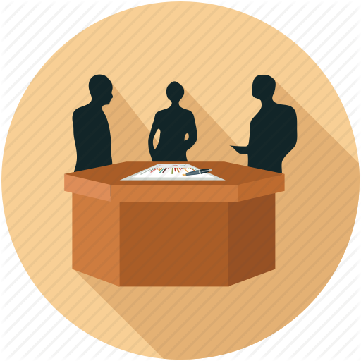 Corporate Meeting, Meeting, Meeting Room Icon