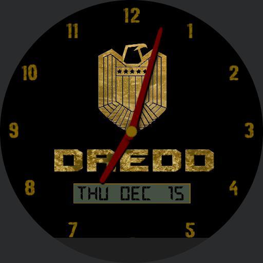 Dredd Movie Watchfaces For Moto