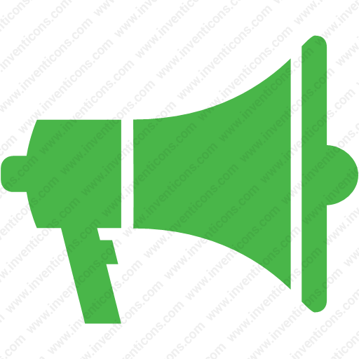 Download Advertising,marketing,megaphone Icon Inventicons