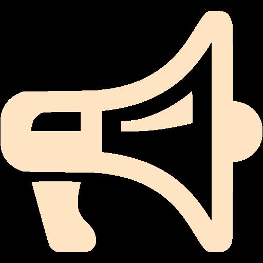 Bisque Megaphone Icon
