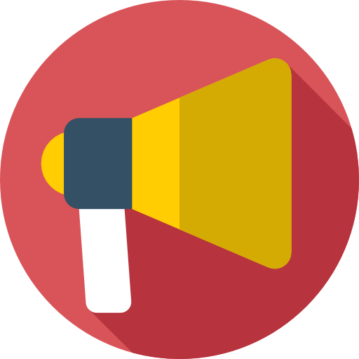 Megaphone, Music And Multimedia, Shout Icon