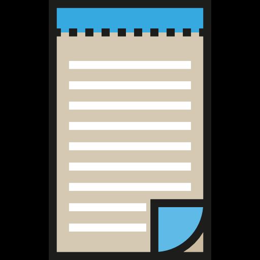 Book, Notes, Miscellaneous, Memo, Interface, Pad Icon