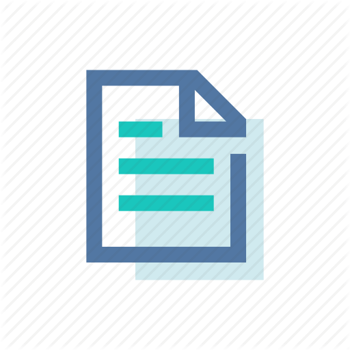 Doc, Document, File, Memo, My Files, Report, Sheet Icon