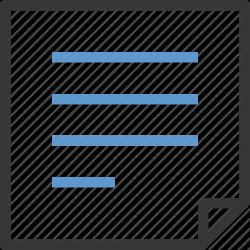 Editor, Memo, Note, Pad, Text Icon