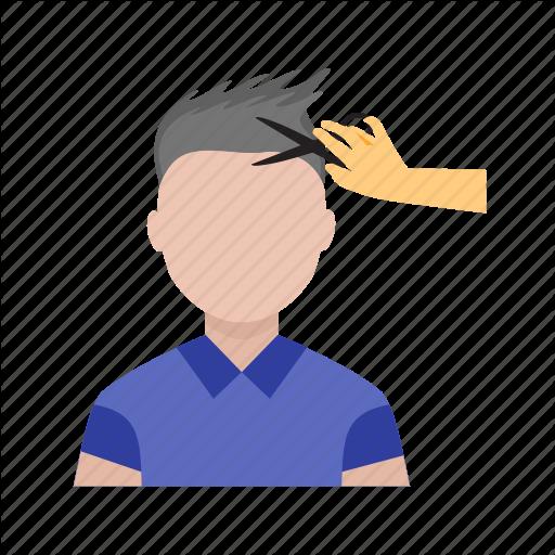 Barber, Cut, Cutting, Hair, Hair Cut, Hair Style, Man Icon
