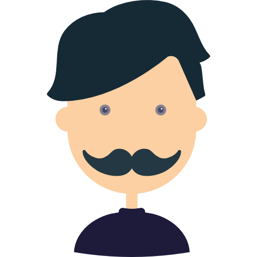 Man, Avatar, User, Facial Hair, People, Business, Profile