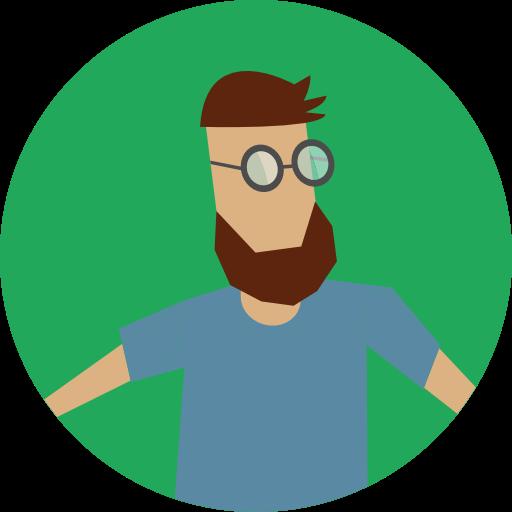 Man, User, Avatar, Hipster, Facial Hair Icon