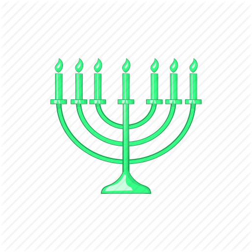Candlestick, Cartoon, Chanukah, Jewish, Menora, Menorah, Religion Icon