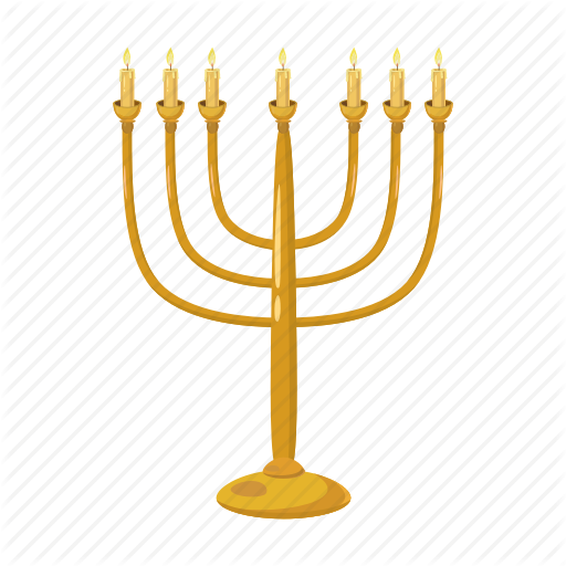 Candlestick, Cartoon, Hanukkah, Holiday, Jewish, Judaism, Menorah Icon