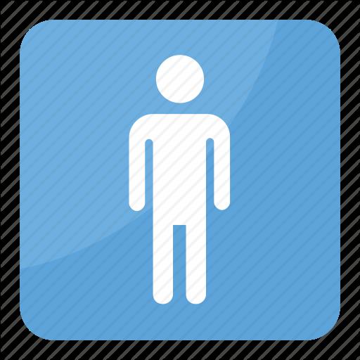 Male Restroom, Men Symbol Emoji, Mens Room, Mens Toilet Emoji