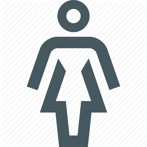 Simple Toilet Sign Simple Disabled Person Wc Png
