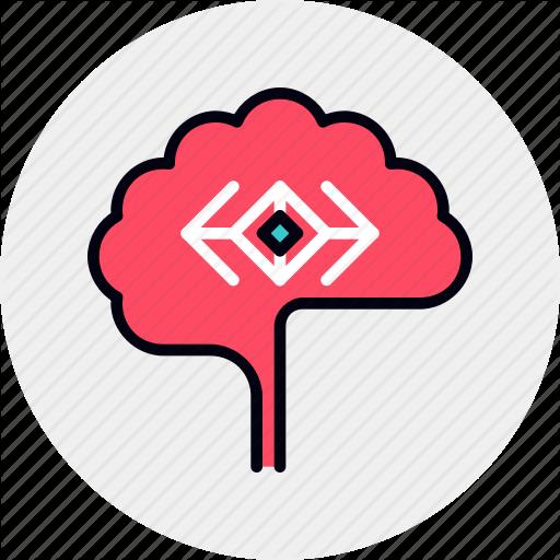 Brain, Invention, Mental Icon