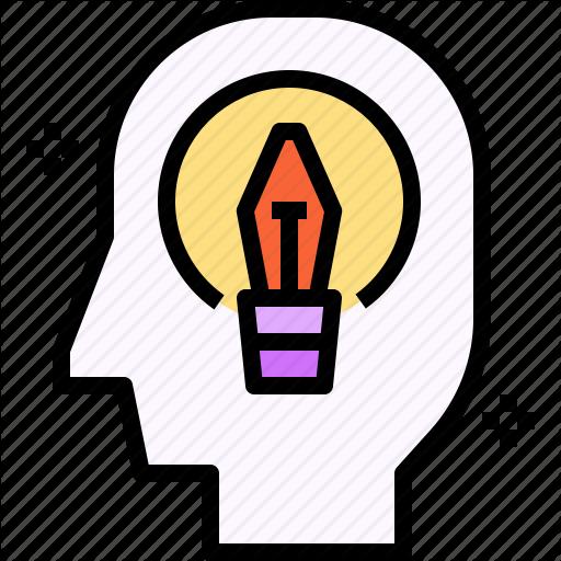 Creativity, Head, Idea, Mental, Think Icon