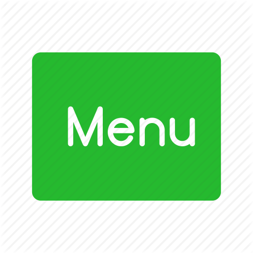 Main Menu, Menu, Menu Button, Restaurant Icon